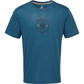 Sherpa Kimti T-shirt Herrer, raja blue